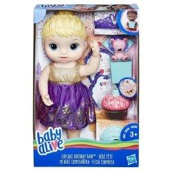HASBRO BABY ALIVE URODZINOWA LALA E0596 3+