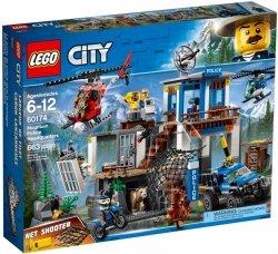 LEGO CITY GÓRSKI POSTERUNEK POLICJI 60174 6+