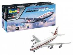 REVELL ZESTAW UPOMINKOWY 50TH ANNIVERSARY BOEING 747-100 05686 SKALA 1:144