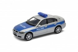 WELLY BMW 330I POLIZEI SKALA 1:34