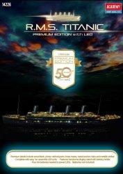 ACADEMY R.M.S. TITANIC PREMIUM EDITION LED 14226 SKALA 1:400