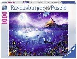 RAVENSBURGER 1000 EL. ORKI W BLASKU KSIĘŻYCA PUZZLE 14+