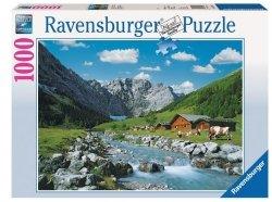 RAVENSBURGER 1000 EL. AUSTRIACKIE GÓRY PUZZLE 12+