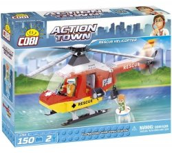 COBI ACTION TOWN DOCTOR RESCUE HELICOPTER 1762 5+