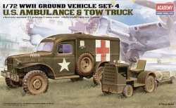 ACADEMY U.S AMBULANCE & TOW TRUCK 13403 SKALA 1:72