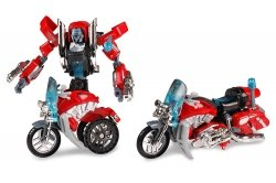 ARTYK FIGURKA TRANSFORMER ROBOT - MOTOCYKL 6+
