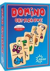 ABINO GRA DOMINO OBRAZKOWE OWOCE/ZWIERZĘTA 4+