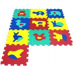 ARTYK 10 EL. PUZZLE PIANKOWE ZWIERZĘTA 10M+