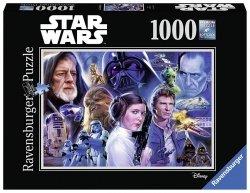RAVENSBURGER 1000 EL. - STAR WARS KOLEKCJA 1 PUZZLE 14+