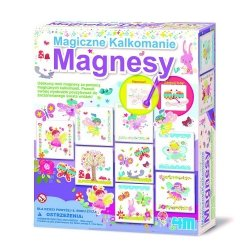 4M MAGICZNE KALKOMANIE MAGNESY 8+