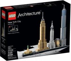 LEGO ARCHITECTURE NOWY JORK 21028 12+