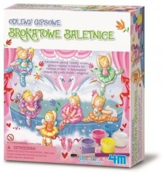 4M BROKATOWE BALETNICE GIPSOWE MAGNESY 5+