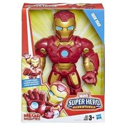 HASBRO AVENGERS SUPER HERO MEGA MIGHTIES IRON MAN E4150 3+
