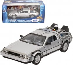 WELLY DELOREAN TIME MACHINE SKALA 1:24