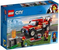 LEGO CITY TERENÓWKA KOMENDANTKI STRAŻY POŻARNEJ 60231 5+