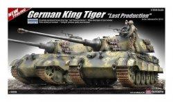 ACADEMY GERMAN KING TIGER LAST SKALA 1:35 8+