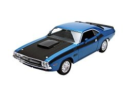 WELLY 1970 DODGE CHALLENGER NIEBIESKI SKALA 1:24
