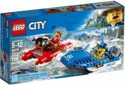 LEGO CITY UCIECZKA RZEKA 60176 5+