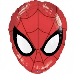 AMSCAN BALON FOLIOWY JUNIOR SHAPE XL - SPIDER-MAN 3+