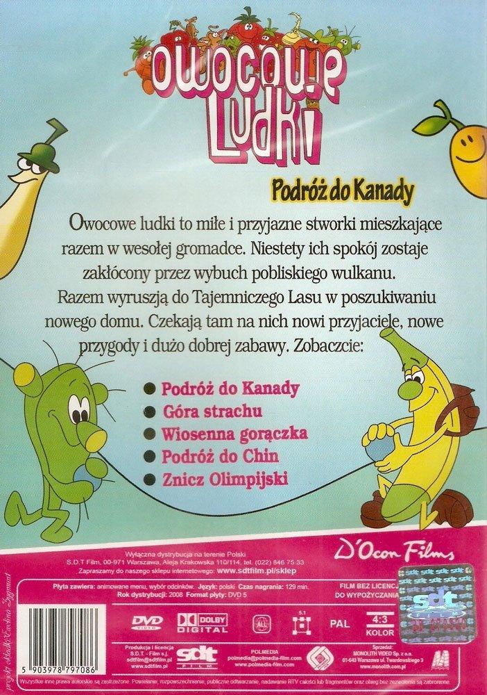 OWOCOWE LUDKI - PODRÓŻ DO KANADY (DVD)