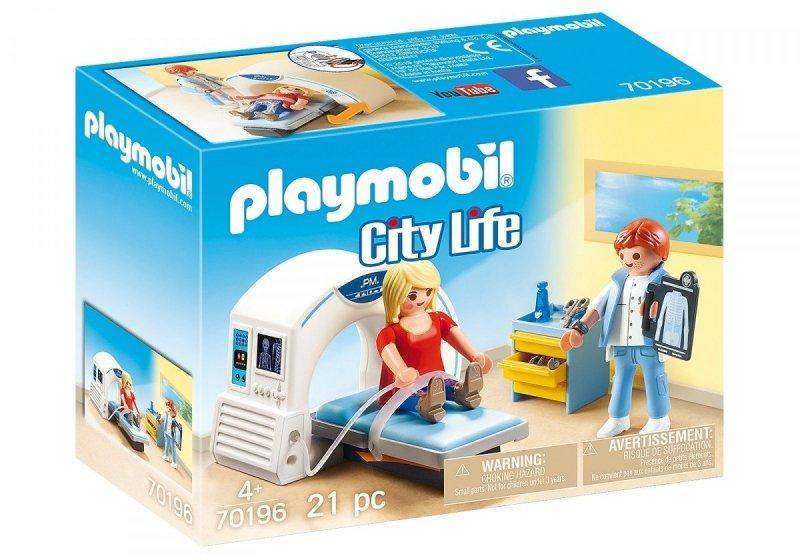 PLAYMOBIL CITY LIFE RADIOLOG 70196 4+