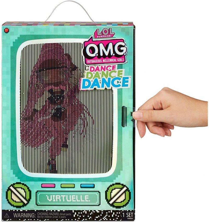 MGA LALKA L.O.L. SURPRISE OMG DANCE DOLL VIRTUELLE 4+