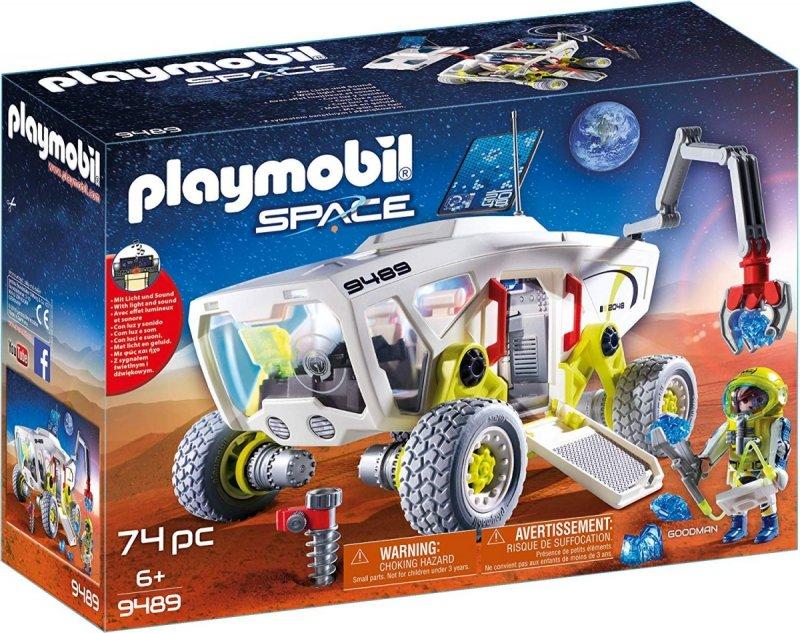 PLAYMOBIL SPACE POJAZD BADAWCZY NA MARSIE 9489 6+