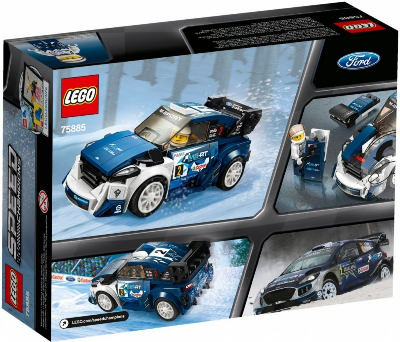 LEGO SPEED CHAMPIONS FORD FIESTA M-SPORT WRC 75885 7+
