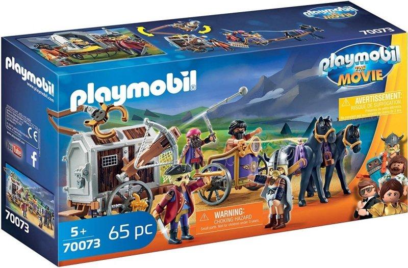 PLAYMOBIL THE MOVIE CHARLIE I POWÓZ RZEZIMIESZKÓW 65EL. 70073 5+