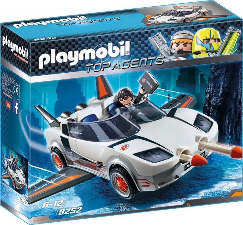 PLAYMOBIL AGENT P. I RACER 9252 5+
