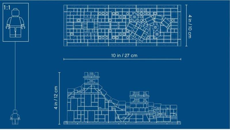 LEGO ARCHITECTURE WIELKI MUR CHIŃSKI 21041 12+