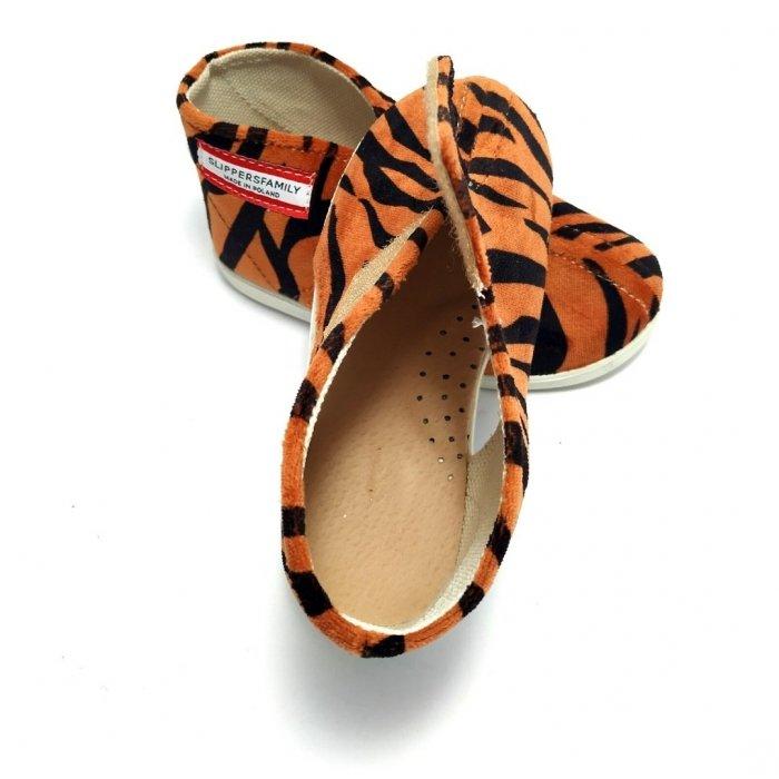 kapcie-dla-dzieci-slippers-family-tygrys