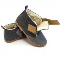 Buty dla dzieci ocieplane Slippers Family Rock