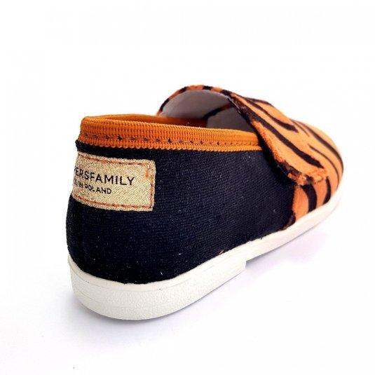 Buty dla dzieci na rzep LOWERKI Tygrys