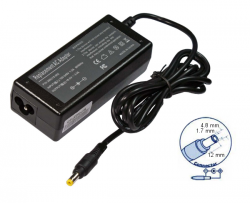 zasilacz do notebooków HP, Compaq 18.5V 3.5A (65W) - wtyk 4.8 x 1.7 x 12 mm fork