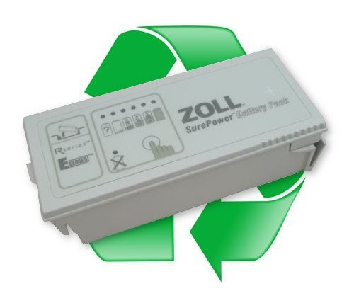 regeneracja akumulatora ZOLL SurePower 10,8V 5,8Ah li-ion do defibrylatora ZOLL E,  ZOLL R