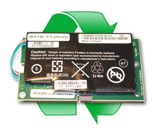 regeneracja baterii IBM 43W4342 do kontrolera RAID MR10i, MR10m, M5014, M5015, M5025
