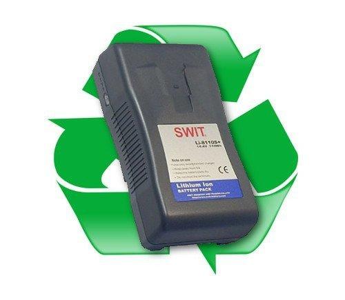 regeneracja baterii SWIT S-8xxx do kamer przenośnych V-Lock, V-Mount, Gold Mount