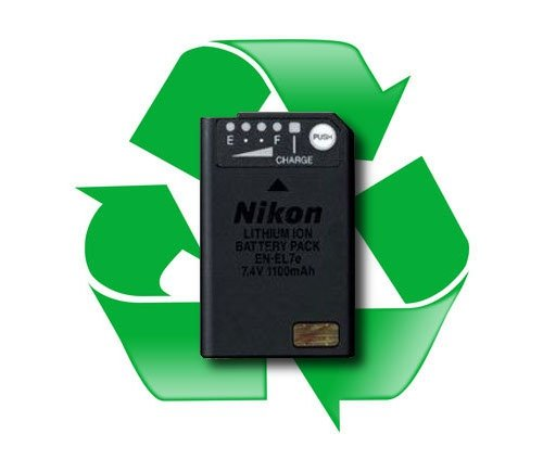 regeneracja akumulatora NIKON EN-EL7 i EN-EL7e - Nikon Coolpix 8400, 8800