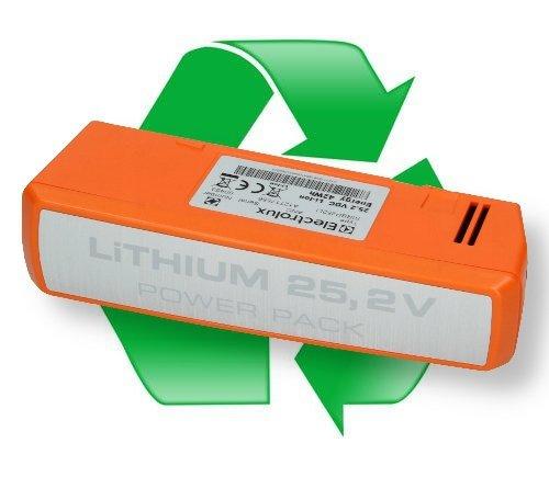 regeneracja akumulatora li-ion 25,2V ZE037 do odkurzaczy pionowych Electrolux UltraPower ZB5022, ZB 5022, AEG