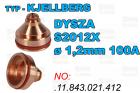 DYSZA S2012X - ø 1,2mm 100A-.11.843.021.412