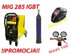 MIG 285 IGBT   PROMOCJA - ZESTAW SPAWALNICZY