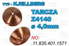 TARCZA- Z4140 - ø 4,0mm - .11.835.401.1571