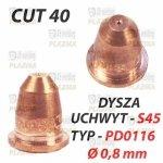 DYSZA PLAZMY PD0116 Ø 0,8 mm - UCHWYT S45 / CUT 40