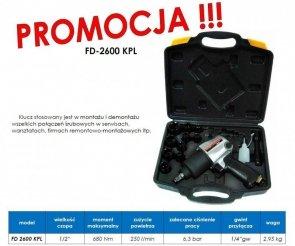 KLUCZ PNEUMATYCZNY FD-2600 KPL