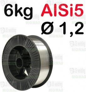 DRUT AlSi5  Ø 1,2 - 6KG