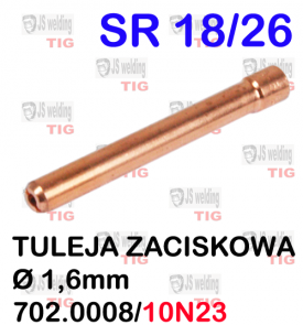 TULEJA  Ø1.6MM  WP26 SR26.SR18