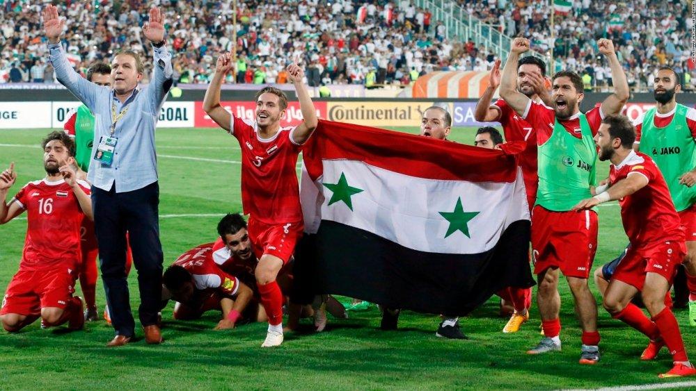 JAKOść, czyli futbol po syryjsku