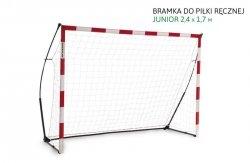 Quickplay Piłka Ręczna Bramka Junior 2,4 x 1,7m