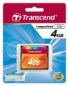 Transcend Compact Flash 4GB karta MLC 133X